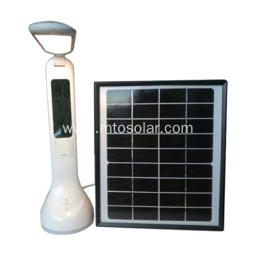 Foldable led solar desk lamp